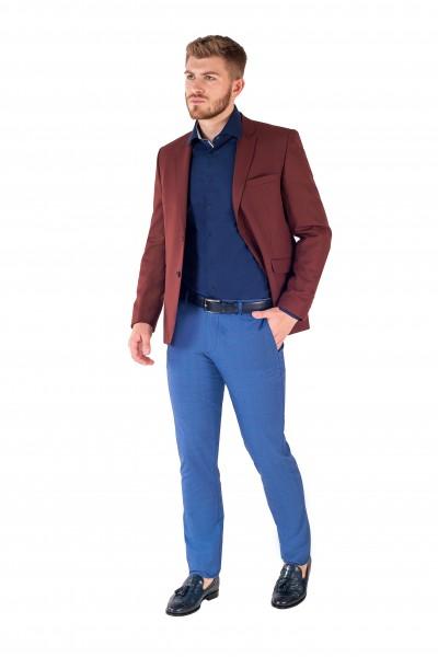 Пиджак из эластичной шерсти 4111-48